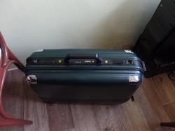 President dark green suitcase