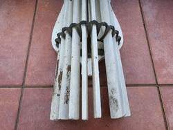Antik fűrdőszobai türölkölköző tartó, szárító, összecsukható