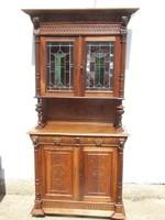 Renaissance carved sideboard