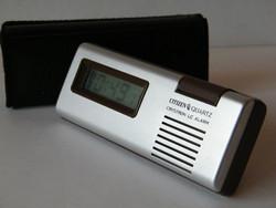 Citizen quartz crystron lc alarm japán asztali óra (1970)