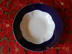 Zsolnay Pompadour alapmázas mély tányér