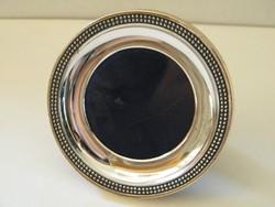 Ezüst (925) kis kerek asztali képkeret