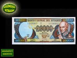 UNC - 20 000 SUCRE - ECUADOR - 1999