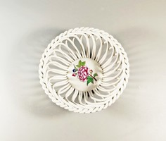 Herend Victoria patterned basket 10 cm., Flawless! (J127)