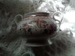Porcelán cukor tartó