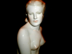 Herend is a large nude figure 45 cm tall