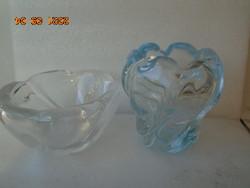 2 pcs vase vase and offering ca 2 x 2 kg of item