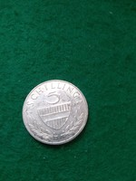 Ezüst  5 schilling  1964