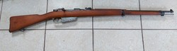 Ii.Vh short Italian carcano military rifle, a piece brought home from vh