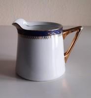 Antik Pirkenhammer porcelán tej kiöntő