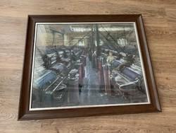 György Ruzicskay - spinning mill (Újpest thread factory)