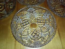 Wonderful lead crystal plates.