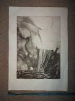 Hungarian etching,