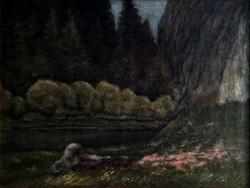 Francis Zajti wild landscape with river