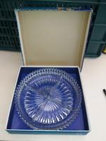 Vintage Walther Kristallglas Kínáló Üveg