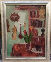 Tamás Ervin (1922-1996): Tulipánok