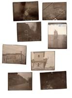 1956 képek romok, halottak, csaták Feliratozva, 20 db kép, 4,5x6 cm