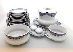 Ravenhouse blue floral tableware (zal-bi39330) (