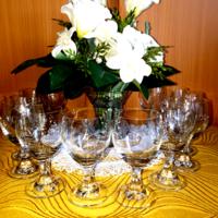 Engraved short drink glass - 12 pcs
