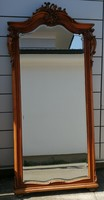 Baroque huge antique carved flawless beautiful mirror