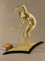 Art Deco nude statue of Jenő Kerényi 503