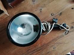 Steklámpa, régi lámpa eredeti foglalattal és vezetékkel