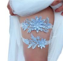 Esküvői, menyasszonyi harisnyakötő szett  ES-HK01-1