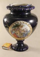 1891-es barokk jelenetes váza 505