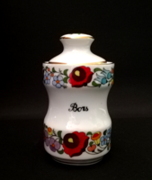 Original hand-painted spice rack from Kalocsa (pepper)