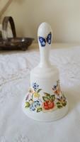 Aynsley,angol porcelán,pillangós csengettyű