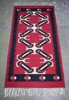 Toronto kilim rug hand woven 161 x 81 cm + fringe