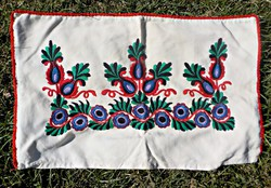 Old hand embroidered pillowcase with special pattern pillow