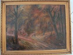 Alberth Ferenc: Őszi erdő