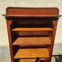 Bookcase shelf, art deco, retro