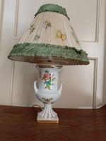 Herendi Viktória mintás VBO asztali lámpa, eredeti állapotban