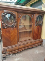 Eclectic combination cabinet