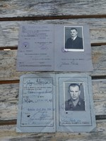 2 db.német 2.vh-s jogosítvány  1 emberé volt Luftwaffe