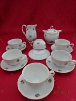 Mz Czechoslovak porcelain, six-person coffee set. Marked on 1960/4. He has!