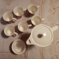 Retro. Cero porcelain coffee / tea set for 6 people for sale