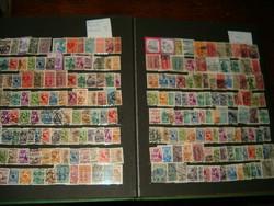 Kb 200 db korai ausztria bélyeg bélyegek egyben lot gyűjtemény korai oszták köztársaság stb