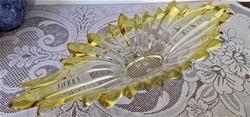 Hatalmas Velencei kristály kínáló / Murano/