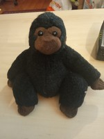 Cute plush gorilla 16cm, new