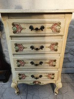 4 drawers vintage provence chest of drawers