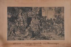 Liezen-Mayer Sándor (1839-1898): Búcsú Szent Erzsébettől