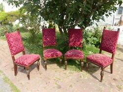 4 db magastámlás szék