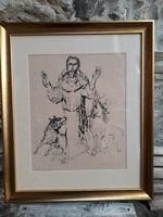 Lajos Szalay: among Saint Francis wolves
