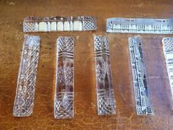 10 darabos üveg késbak