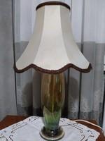 Irizáló antik vastag fújt üveg lámpa