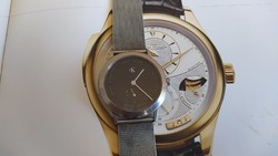 (Fq8) quality Swiss calvin klein watch with 5 stones