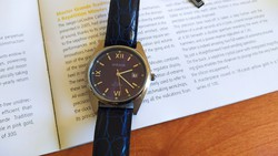 (Fq8) beautiful wearable steel case mirage watch with quality Japanese construction